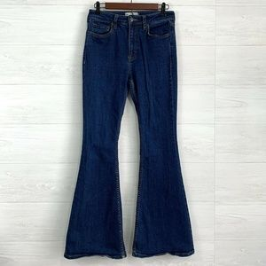 Free People Float On Flare Leg High Rise Jeans